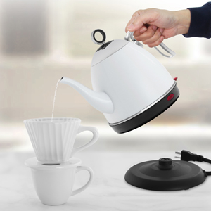 using millie electric kettle to boil water for tea