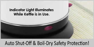 auto shut off and boil dry safety protection