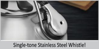 premium stainless steel whistle single tone