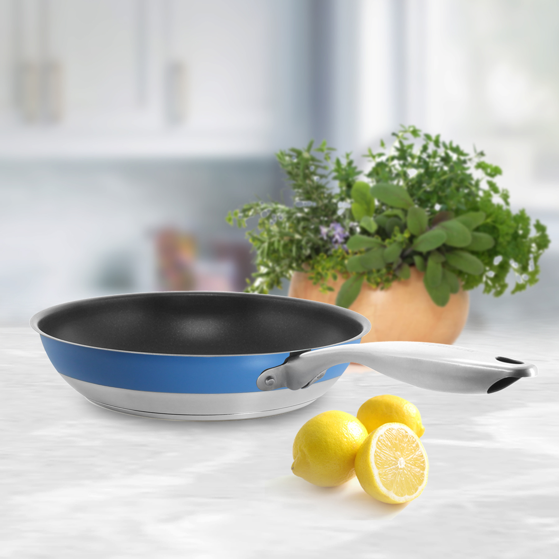 top quality cookware or for a more experienced chef who just wants a pop of color on their stove