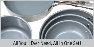 all the stainless steel nickel free cookware you will ever need in one set