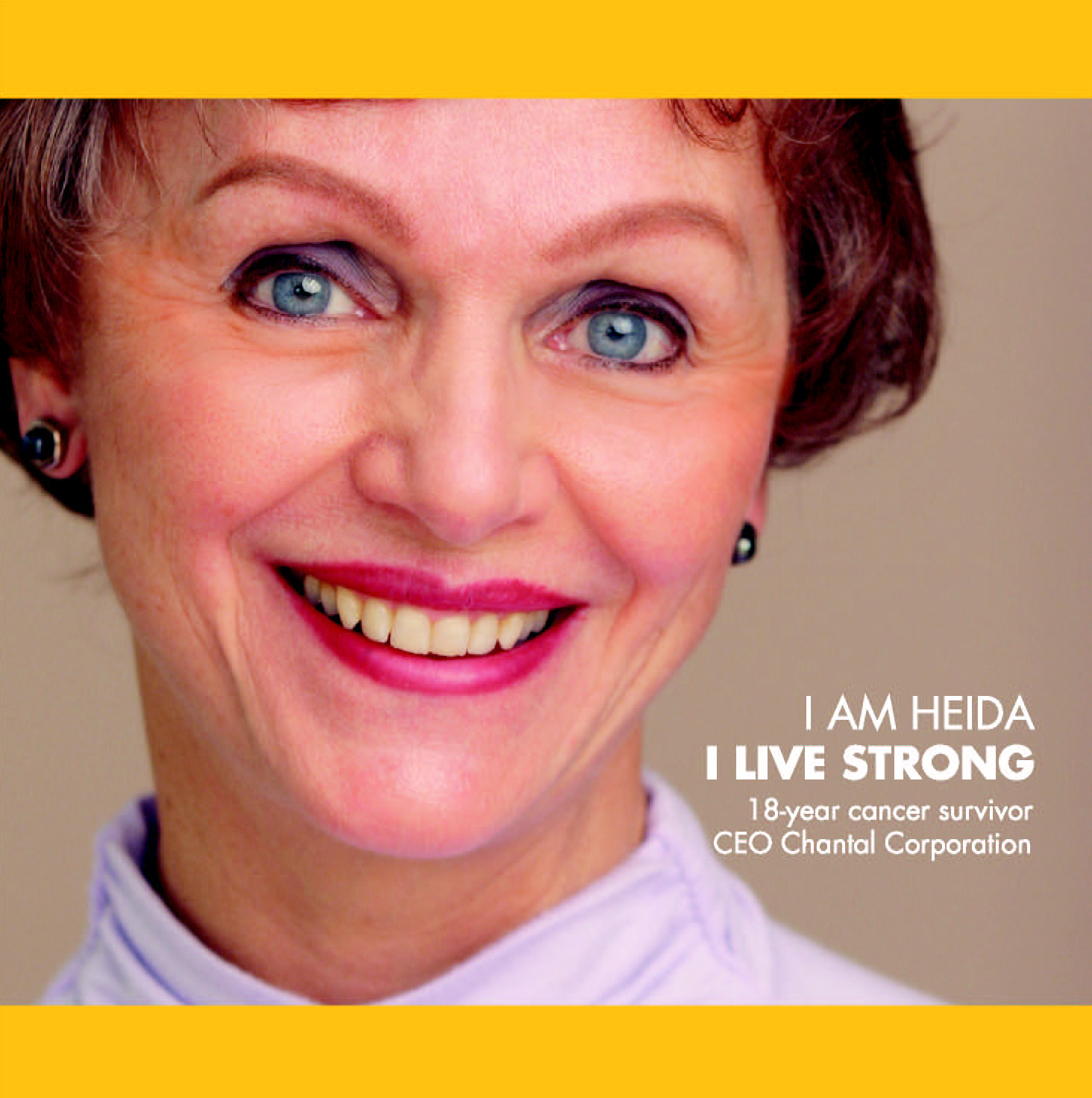 Heida in LiveStrong promo