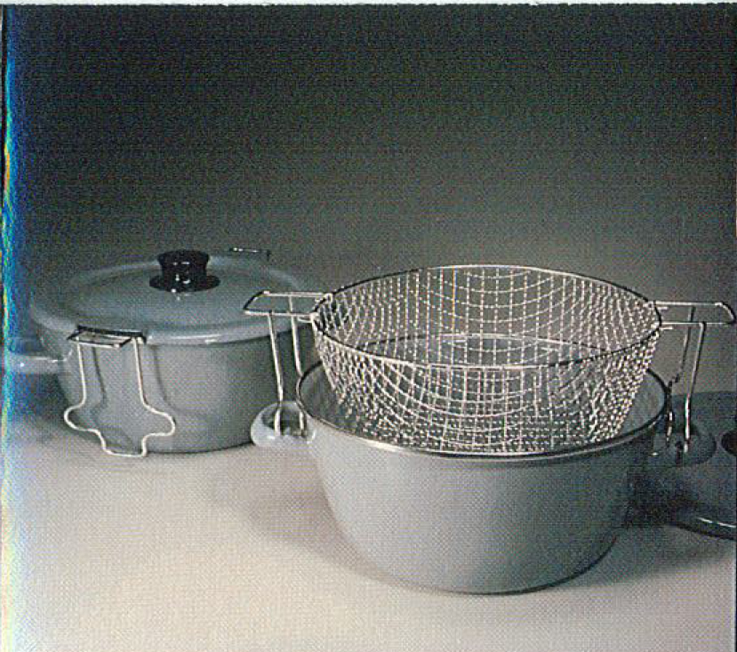 original steam a fry pot