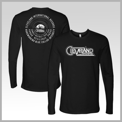 Cleveland International Records Long Sleeve Tee