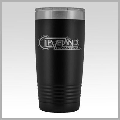 Cleveland International Records Vinyl Tumbler