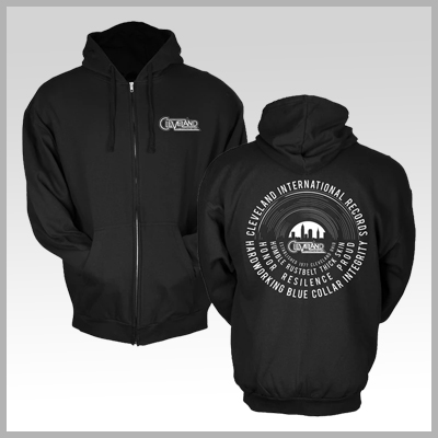 Cleveland International Records Vinyl Zip-Up