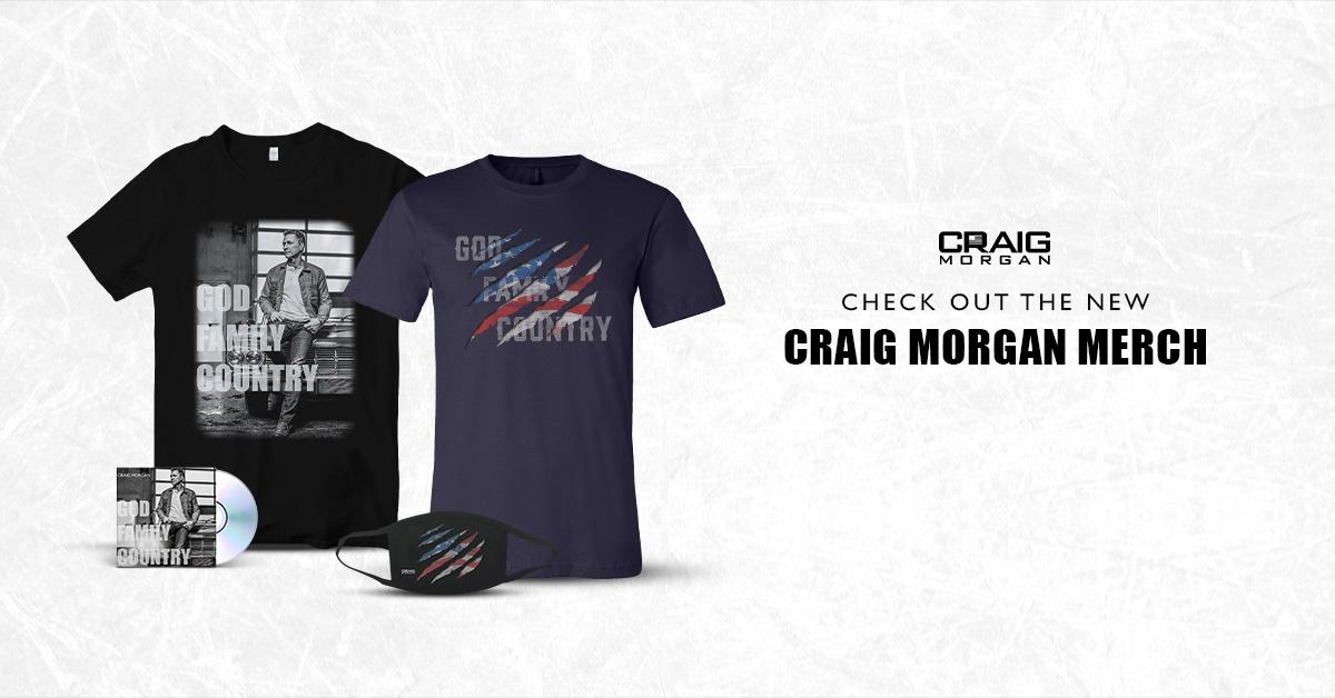 Check Out New Craig Morgan Merch