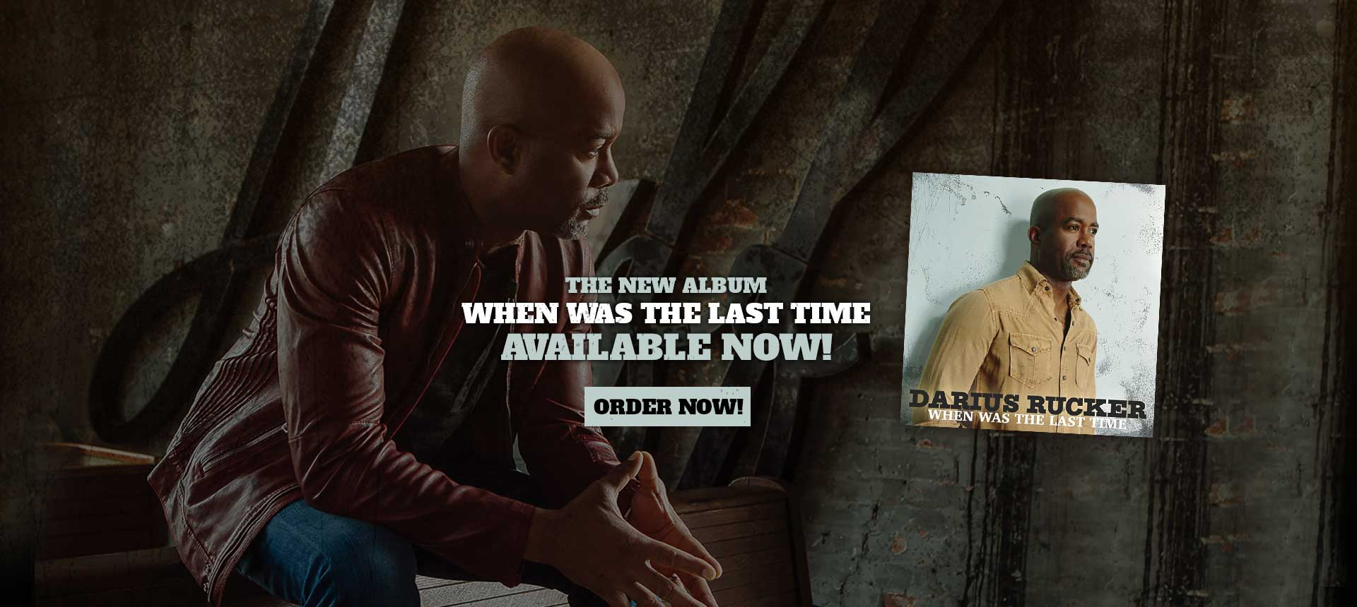When Was The Last Time  - The New Album Available Now