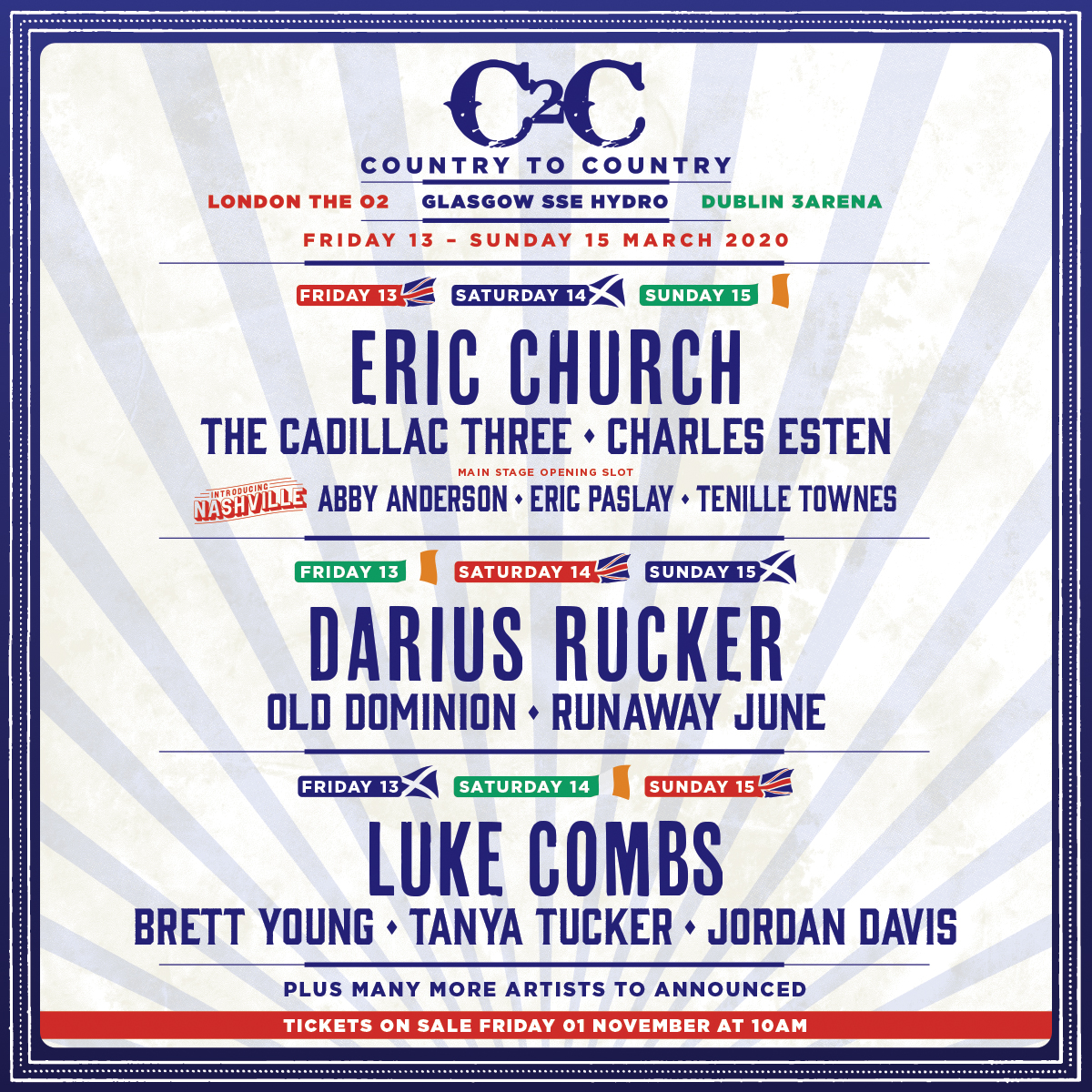 Darius To Headline C2C Music Festival 2020