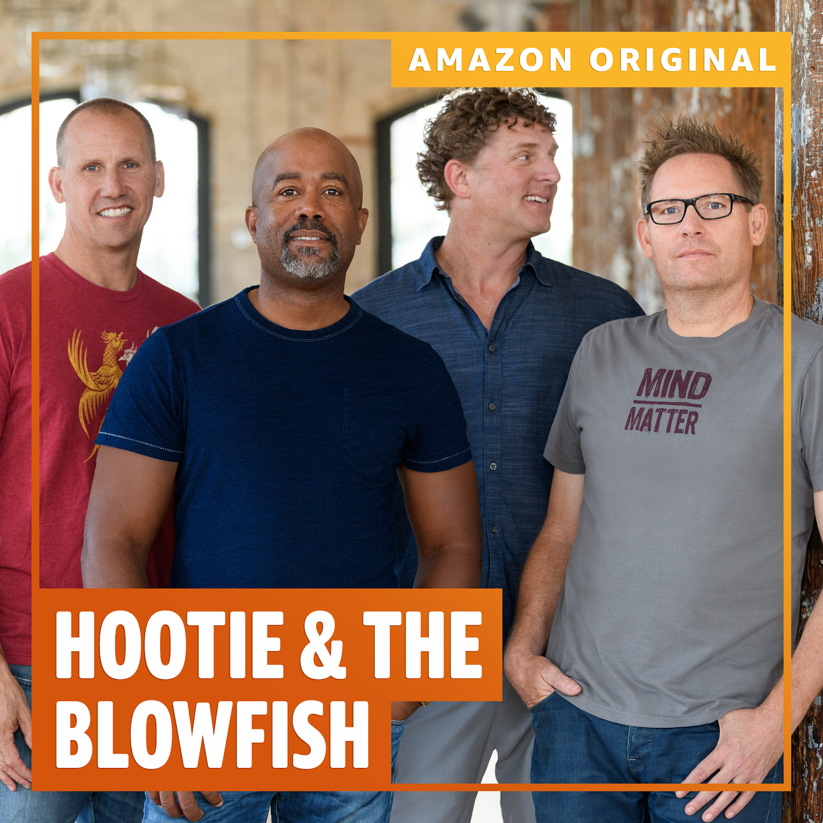 "Hootie & The Blowfish Release Amazon Original Cover of R.E.M.'s ""Losing My Religion"""
