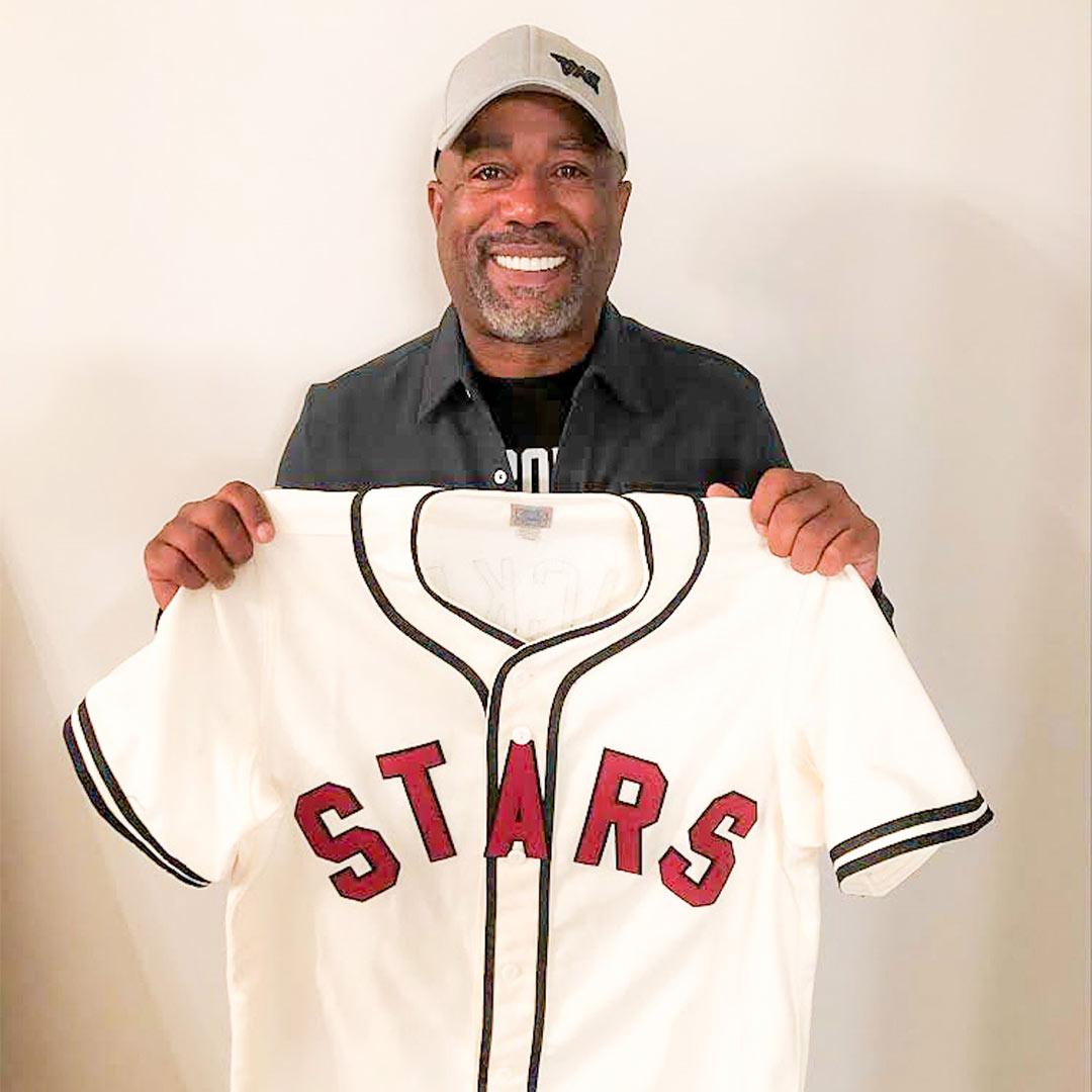 DARIUS SHOWS SUPPORT TO BRING MLB TEAM TO NASHVILLE