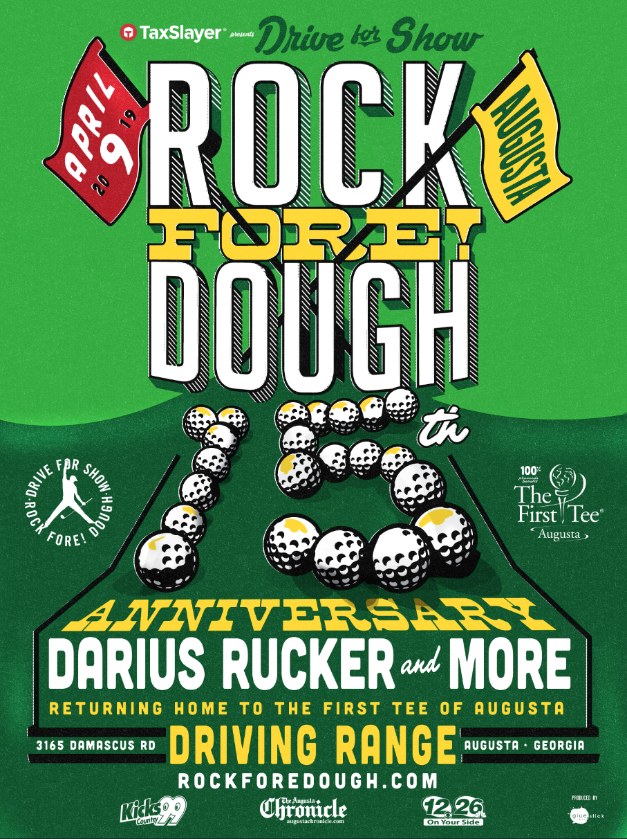Darius Headlines 15th Anniversary Drive for Show, Rock Fore! Dough Concert