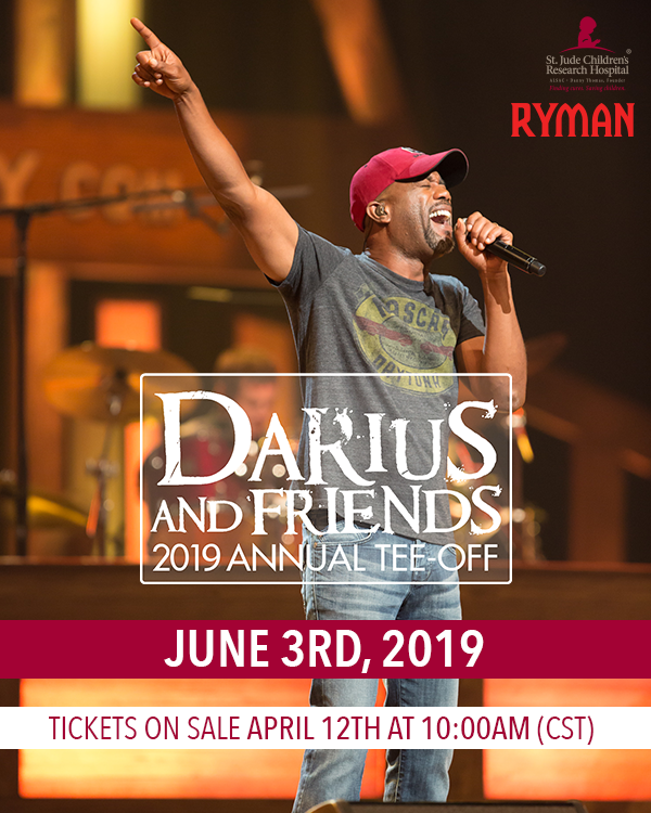 10TH ANNUAL DARIUS & FRIENDS JUST ANNOUNCED