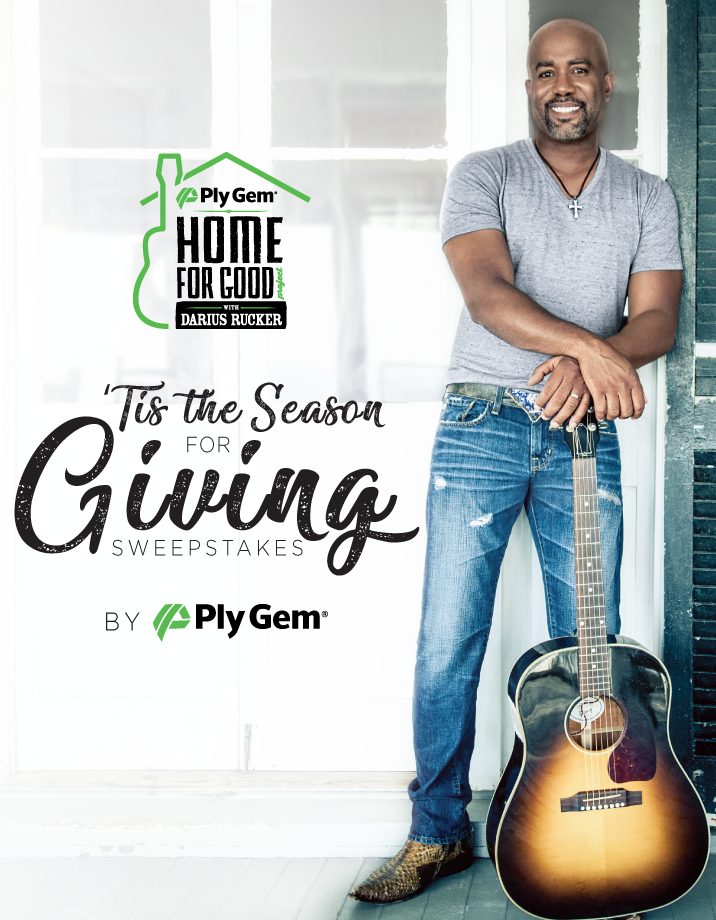Darius Partners With Ply Gem for the Home For Good Project