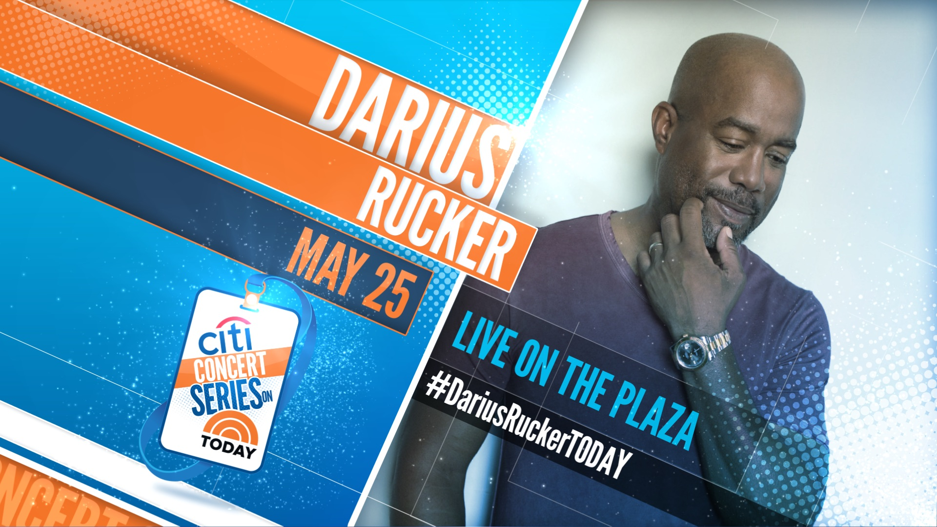 Darius to Play The TODAY Show for the CITI Concert Series