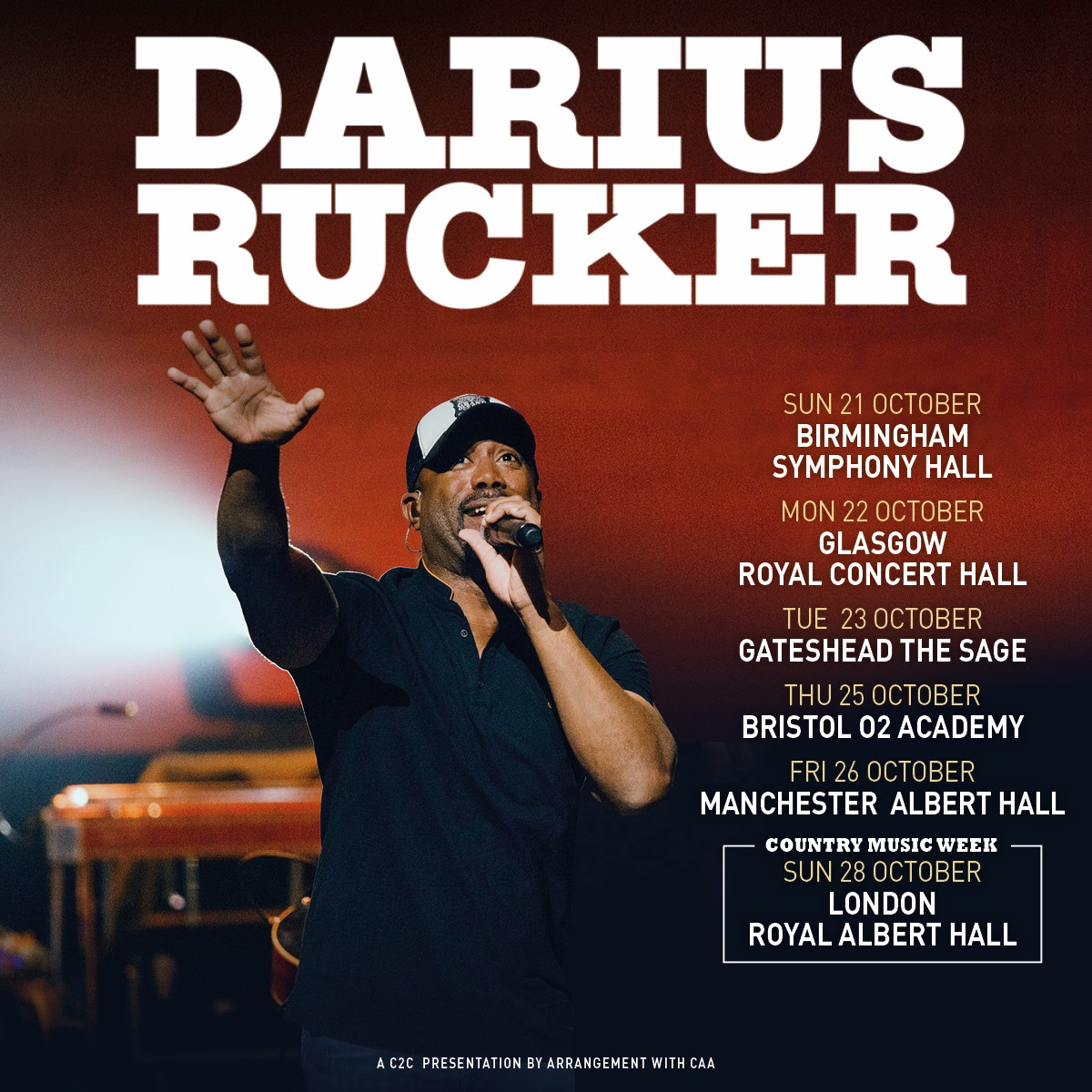 Darius Heads to the UK!