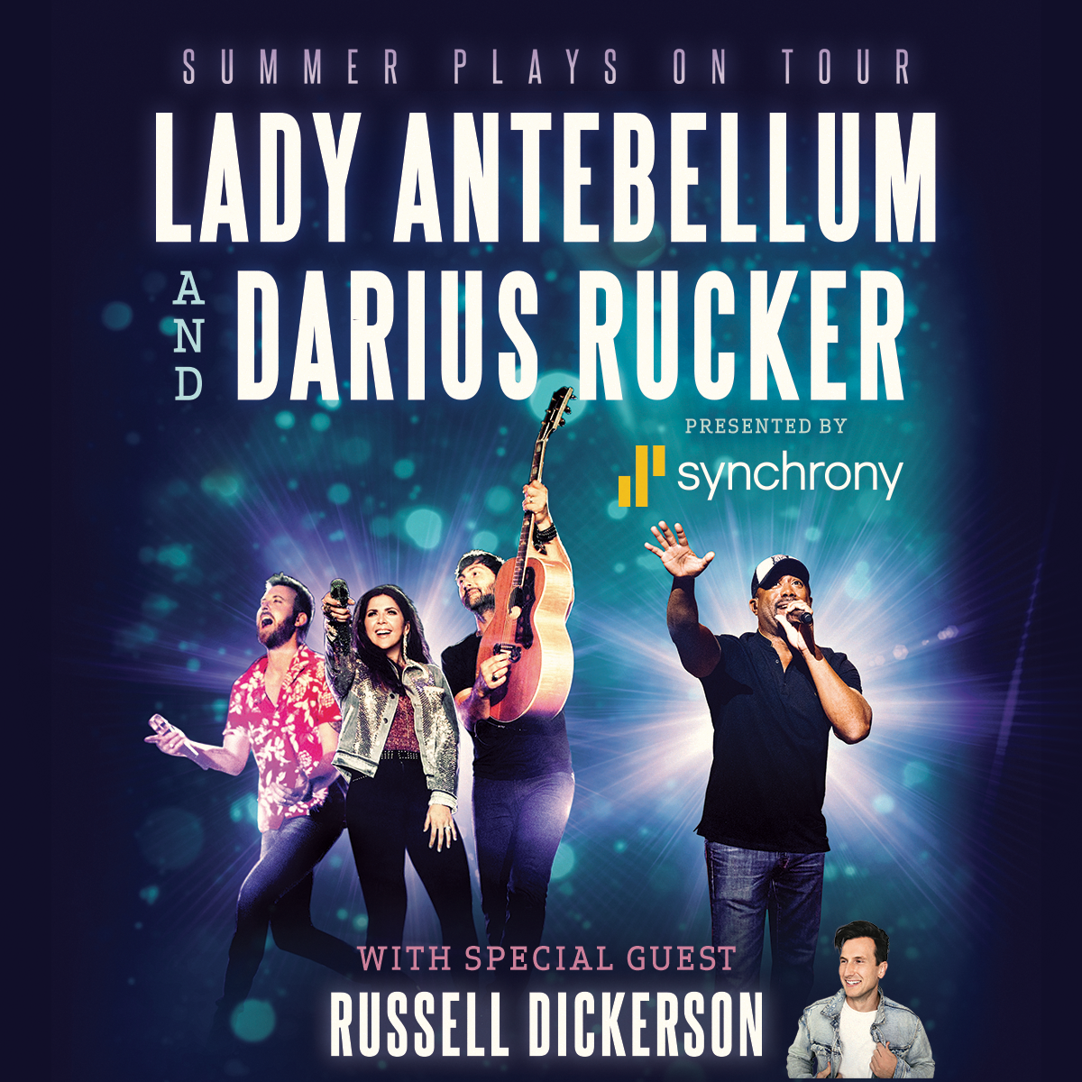Lady Antebellum & Darius Rucker Announce 2018 'Summer Plays On Tour'