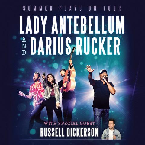 Lady Antebellum & Darius Rucker Announce 2018 'Summer Plays On Tour'