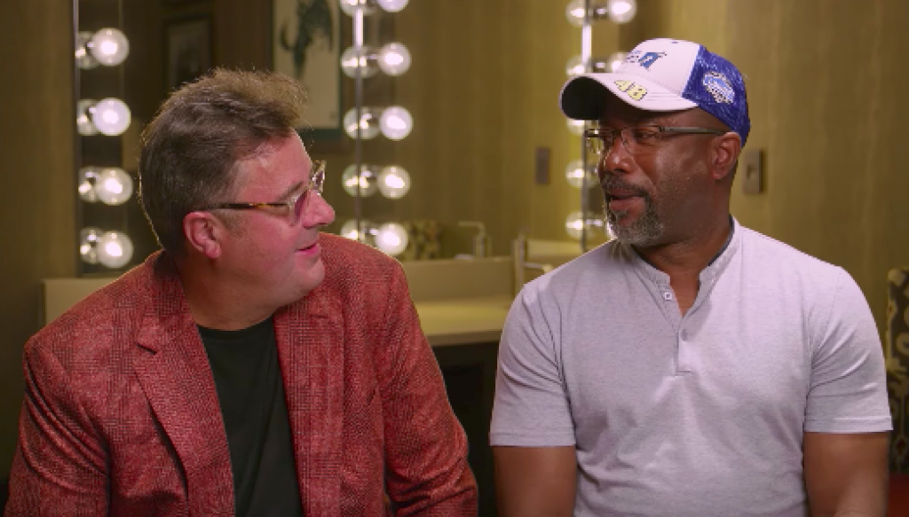 DARIUS AND VINCE GILL DISCUSS THEIR