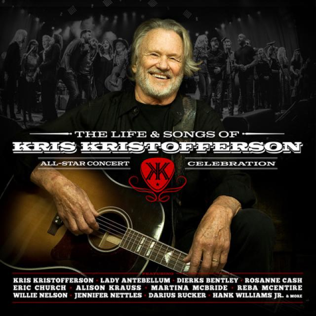 DARIUS FEATURED ON THE LIFE AND SONGS OF KRIS KRISTOFFERSON CMT & Blackbird Presents celebr