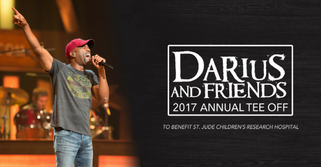 "DARIUS RUCKER SUPPORTS ST. JUDE CHILDREN'S RESEARCH HOSPITAL WITH EIGHTH ANNUAL ""DARIUS AND FRIENDS"