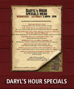 Daryls Hour Specials