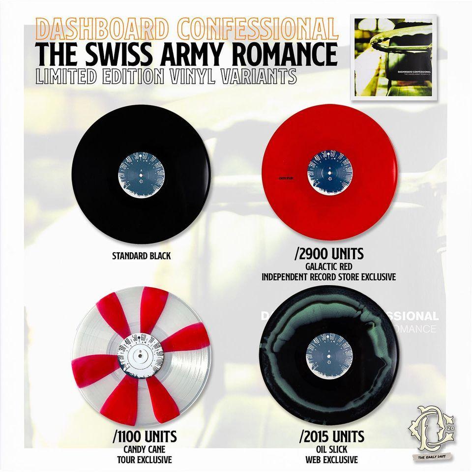 Limited Edition Vinyl Variants