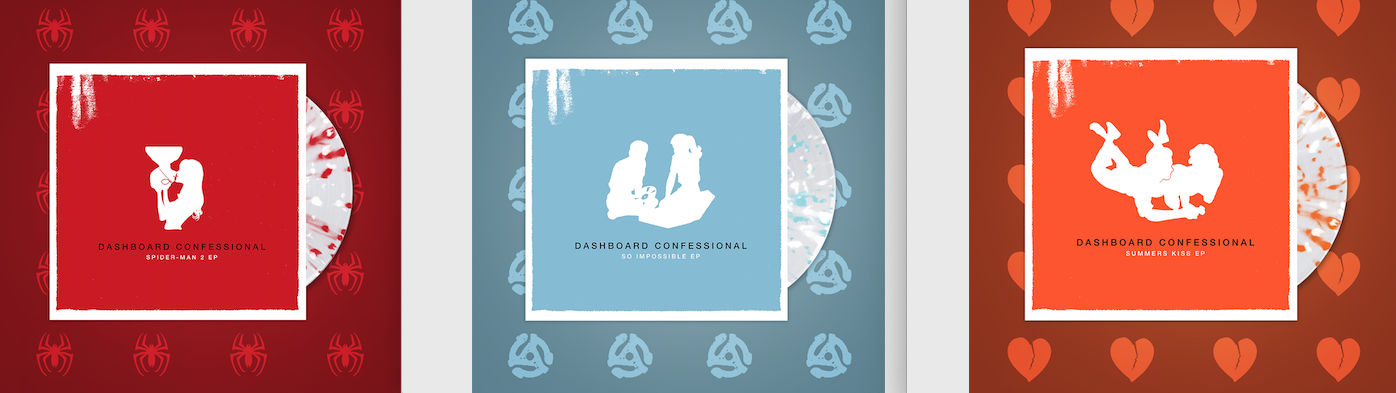 Dashboard Confessional EP Trilogy