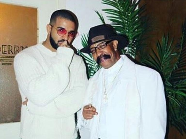 Drake's dad Dennis Graham has released a new single and his son needs to watch out