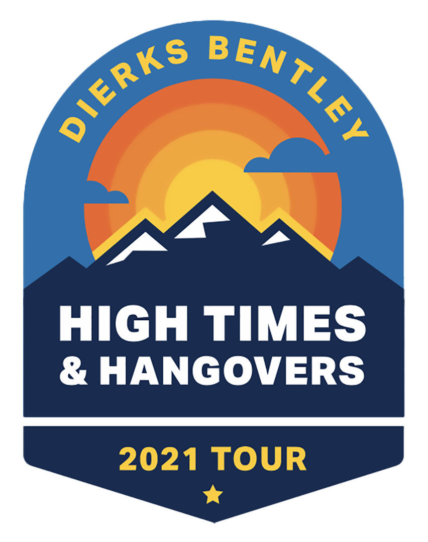 Dierks Bentley's High Times & Hangover 2021 Tour