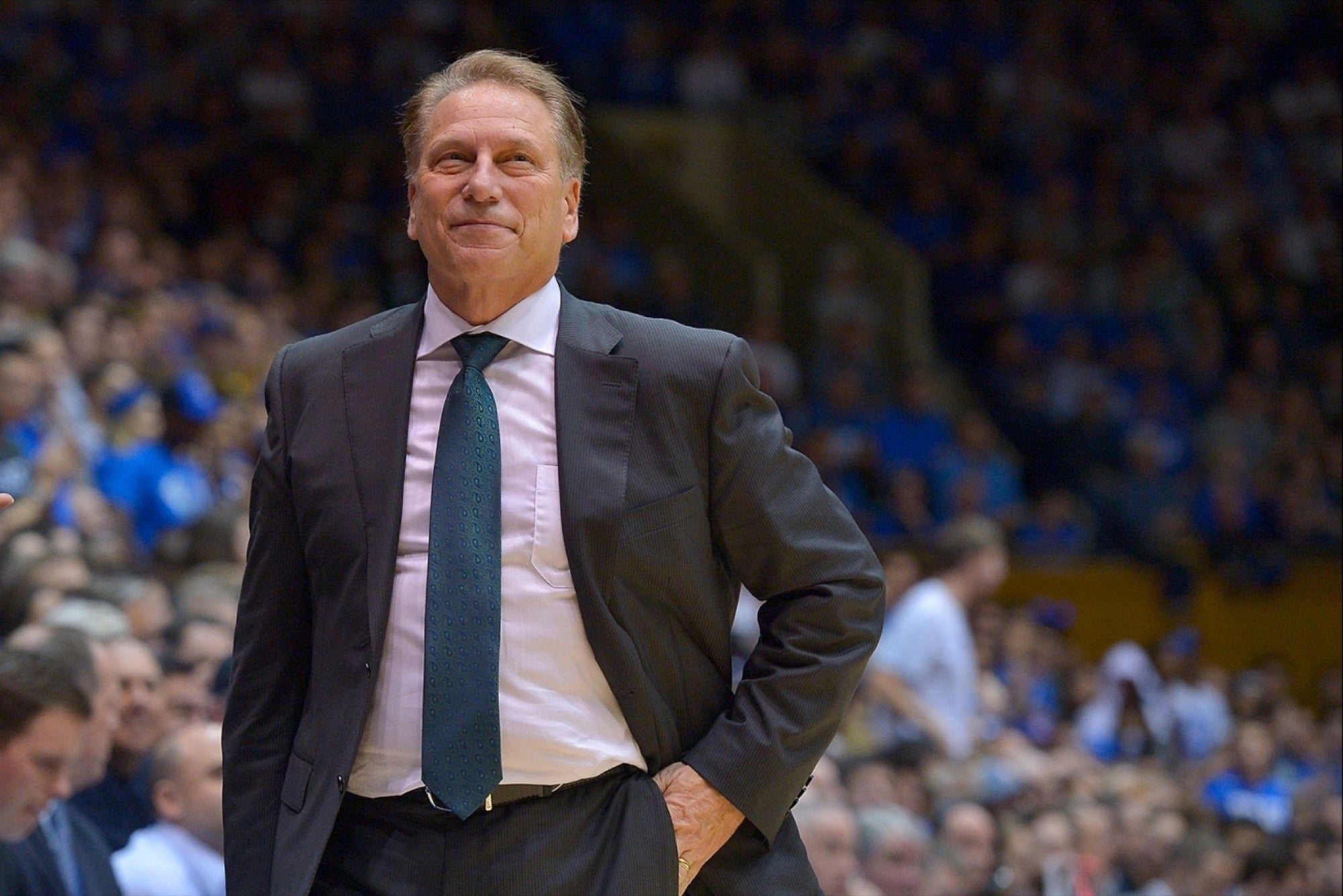 Tom Izzo named one of the most influential people in college basketball