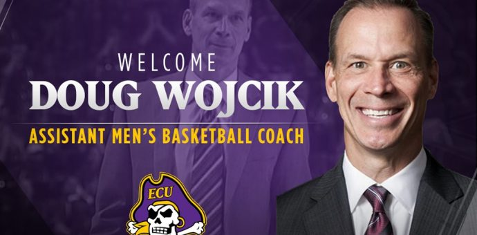Doug Wojcik Named Assistant Men's Basketball Coach