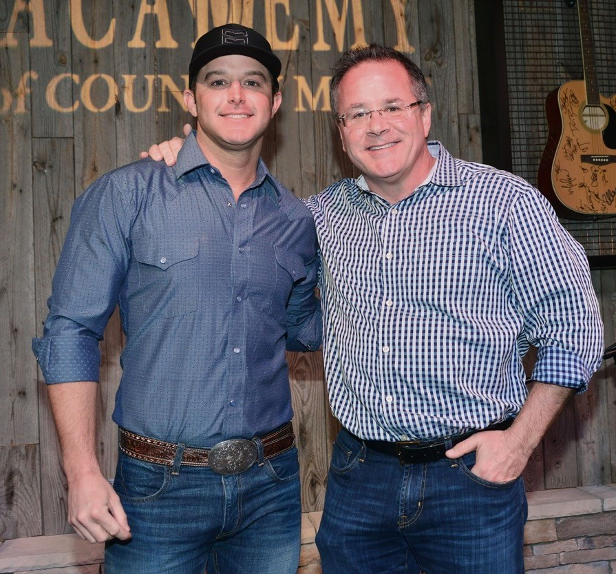 THE ACADEMY OF COUNTRY MUSIC WELCOMES EASTON CORBIN FOR A VISIT