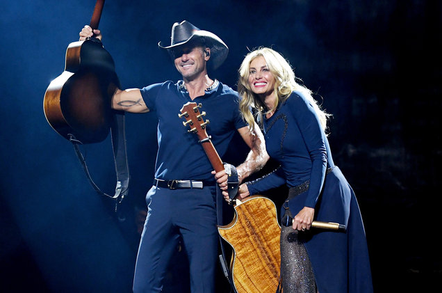 Faith Hill & Tim McGraw to Receive Legends of Live Honor at Billboard Touring Conference & Awards
