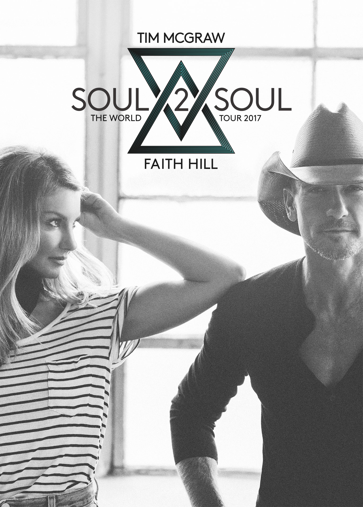 Grammy Award-Winning Superstars Tim McGraw and Faith Hill Announce Soul2Soul The World Tour