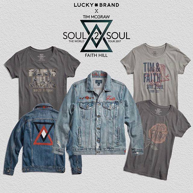 Faith Hill & Tim McGraw Collaborating With Lucky Brand for Upcoming Soul2Soul Tour: Exclusive