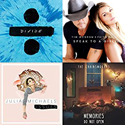 """Speak to a Girl"" featured on Amazon Musics Most Played Songs of 2017 So Far playlist."