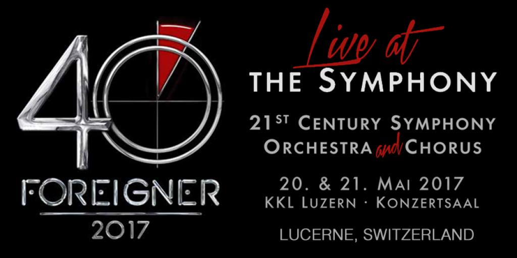 f298f141ffd8 FOREIGNER will be kicking off their worldwide 40th Anniversary Tour with  two very special sold-out shows featuring the 21st Century Symphony  Orchestra on ...