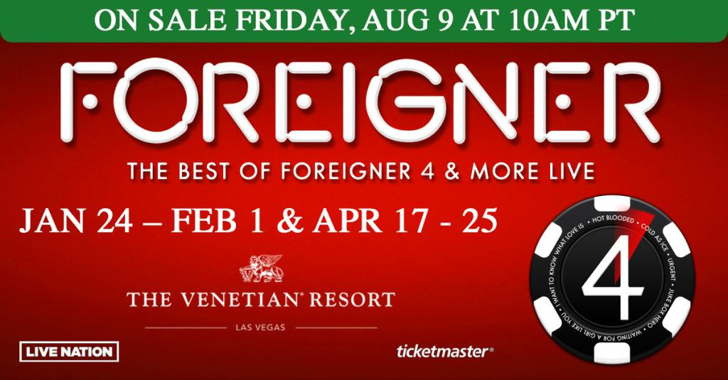 Foreigner Tour 2020.Foreigner The Official Website