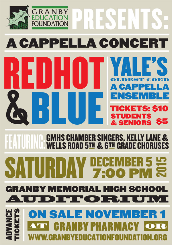 Redhot & Blue High School Chamber Singers