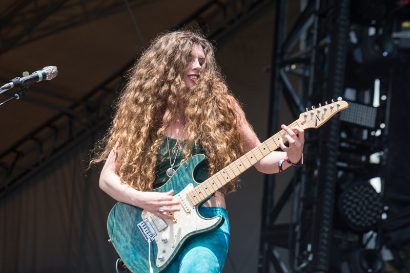 Hannah Wicklund chats about her love of playing music, guitar gear and fun favorites