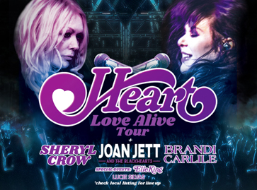 "HEART RETURNS TO THE ROAD IN 2019  FOR MASSIVE ""LOVE ALIVE"" SUMMER TOUR"