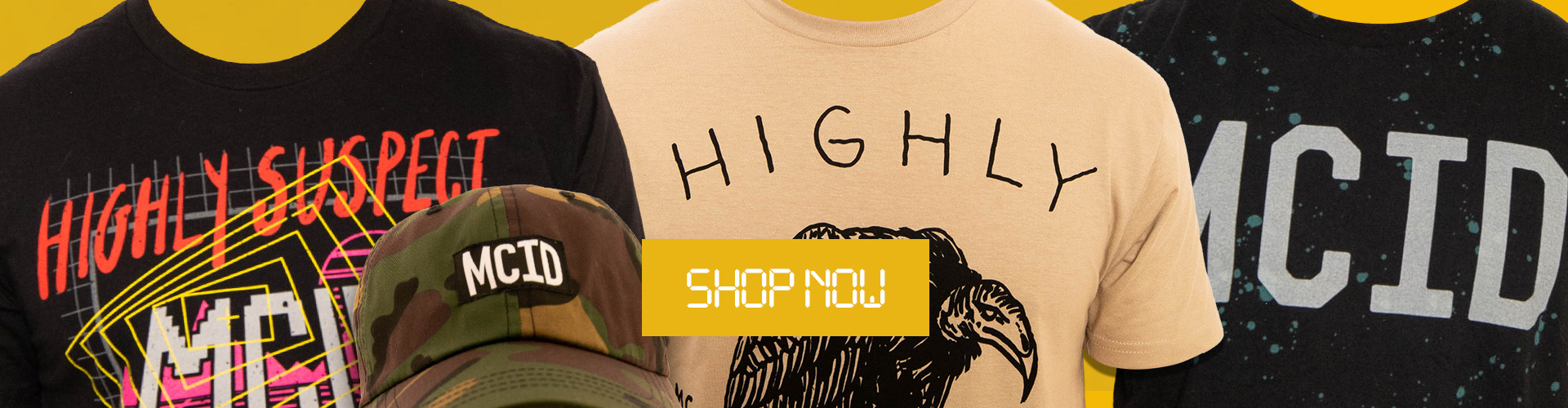 Shop Official Highly Suspect Merch