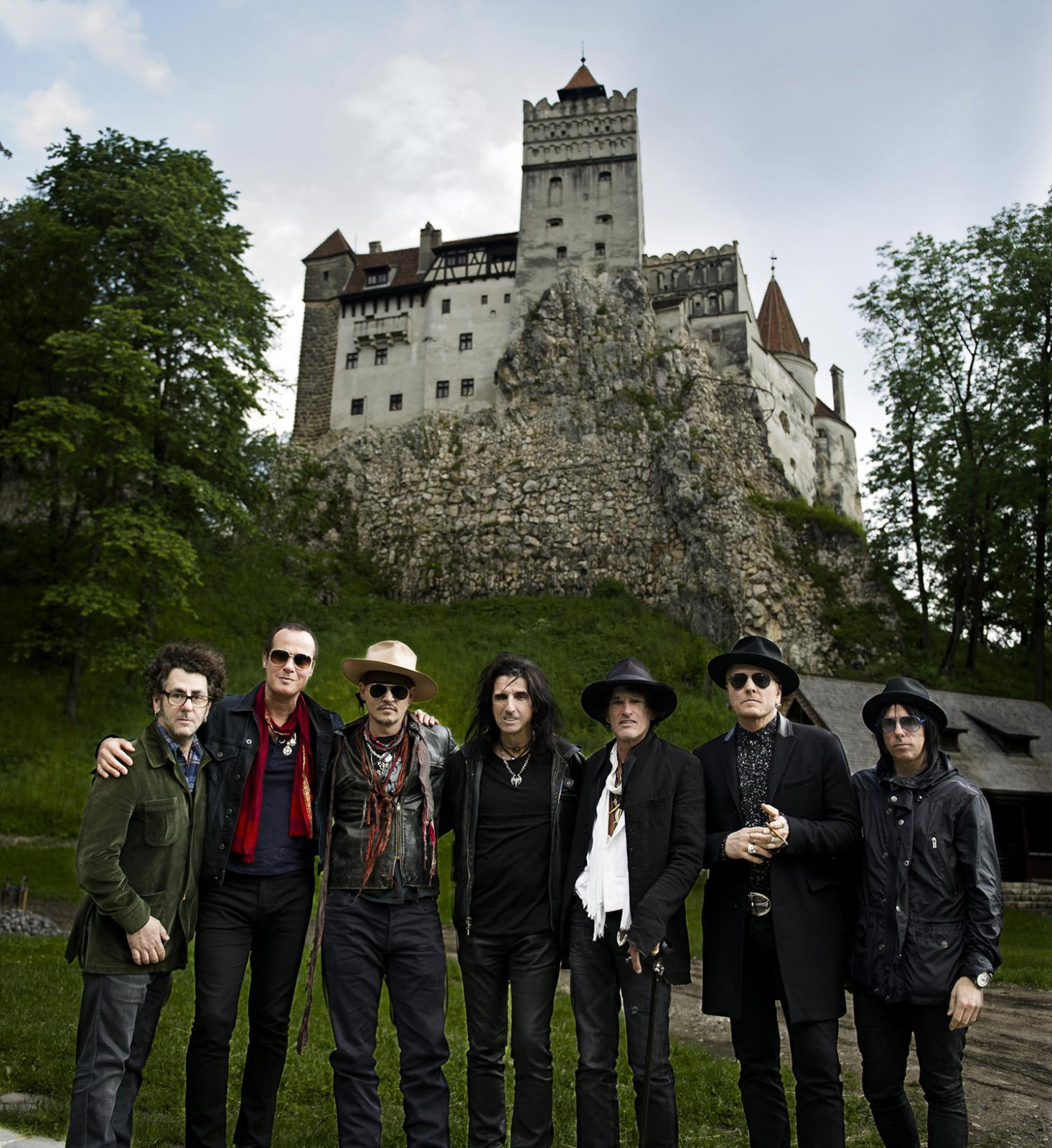 Castle Bran Hollywood Vampires News