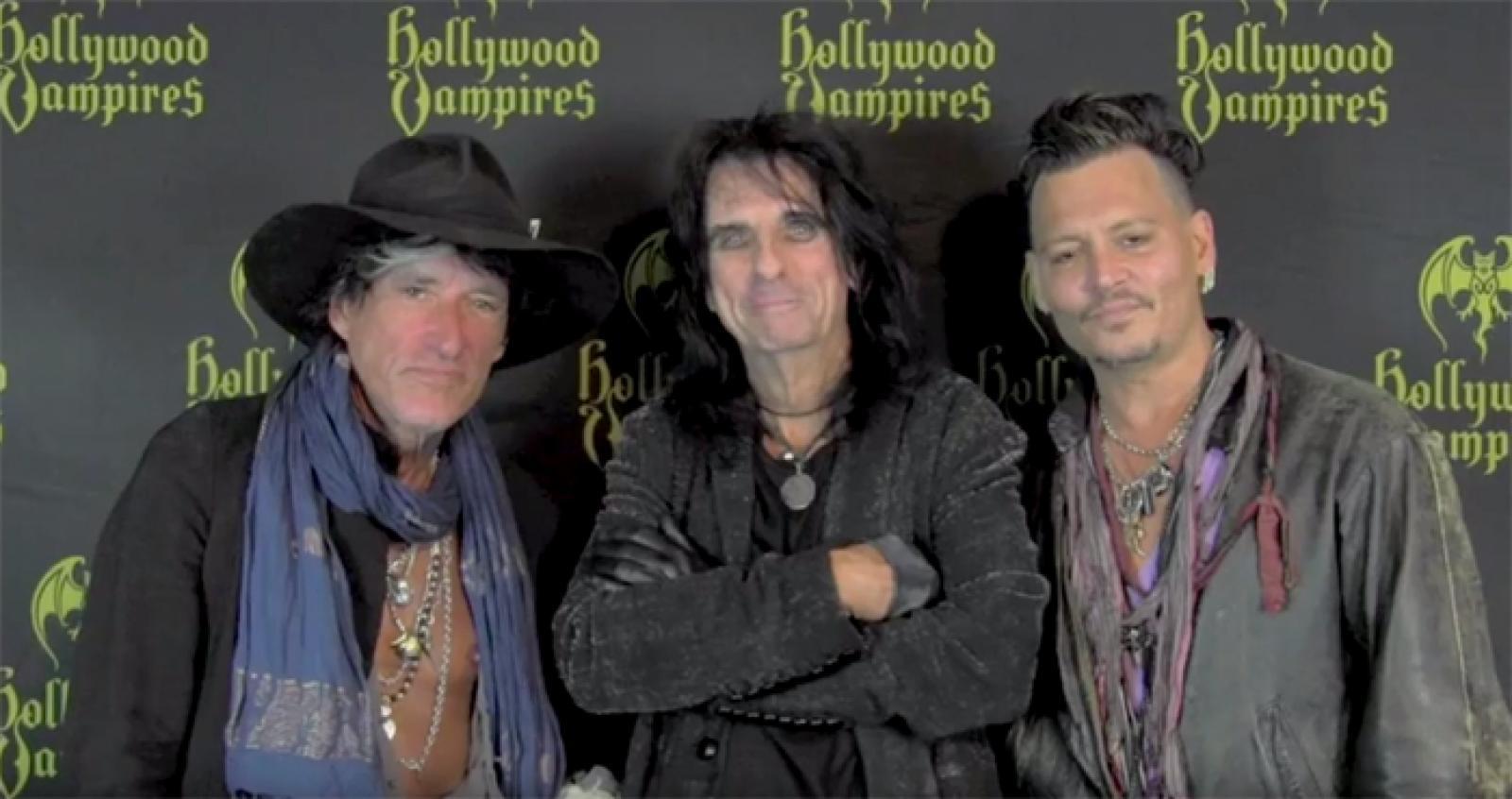 Hollywood Vampires News