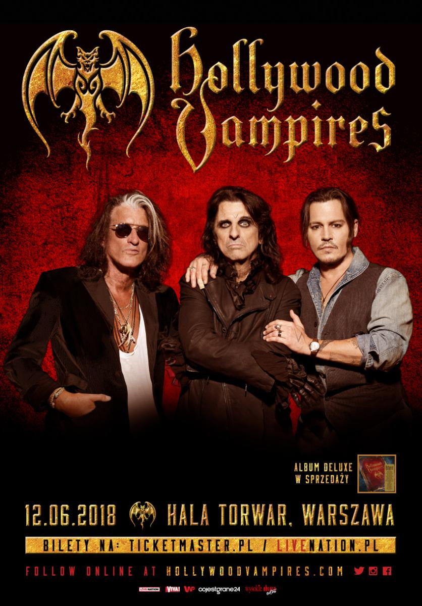 Hollywood vampires official website and store warsaw poland show announced kristyandbryce Choice Image