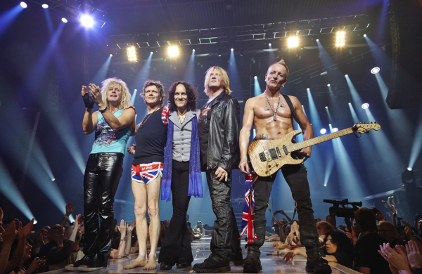 Interviewing Def Leppard Guitarist Vivian Campbell Band Coming To Allentown Fair Hopes To Be Re Adrenalized By New Disc