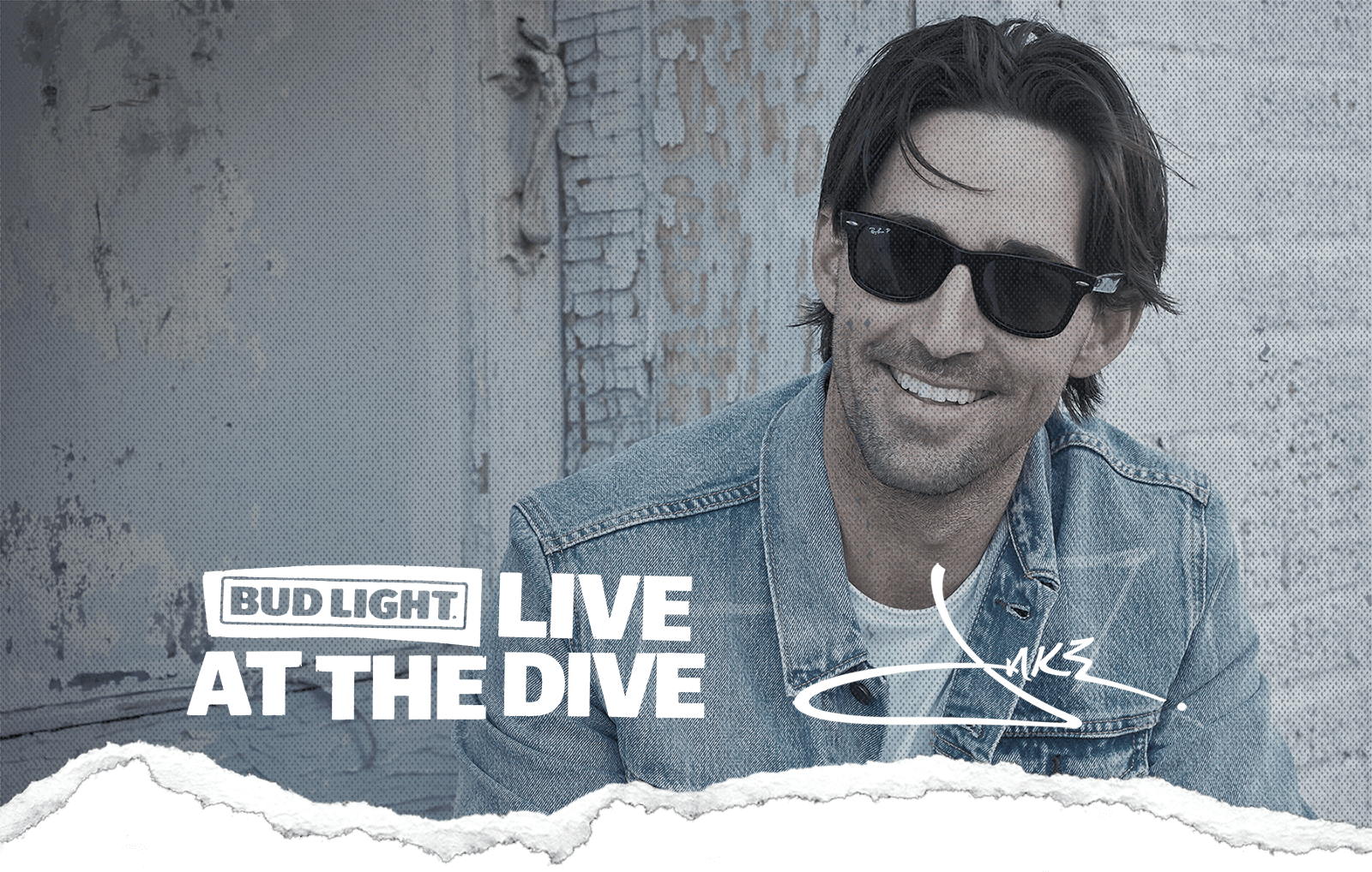 JAKE OWEN TEAMS UP WITH BUD LIGHT FOR LIVE AT THE DIVE