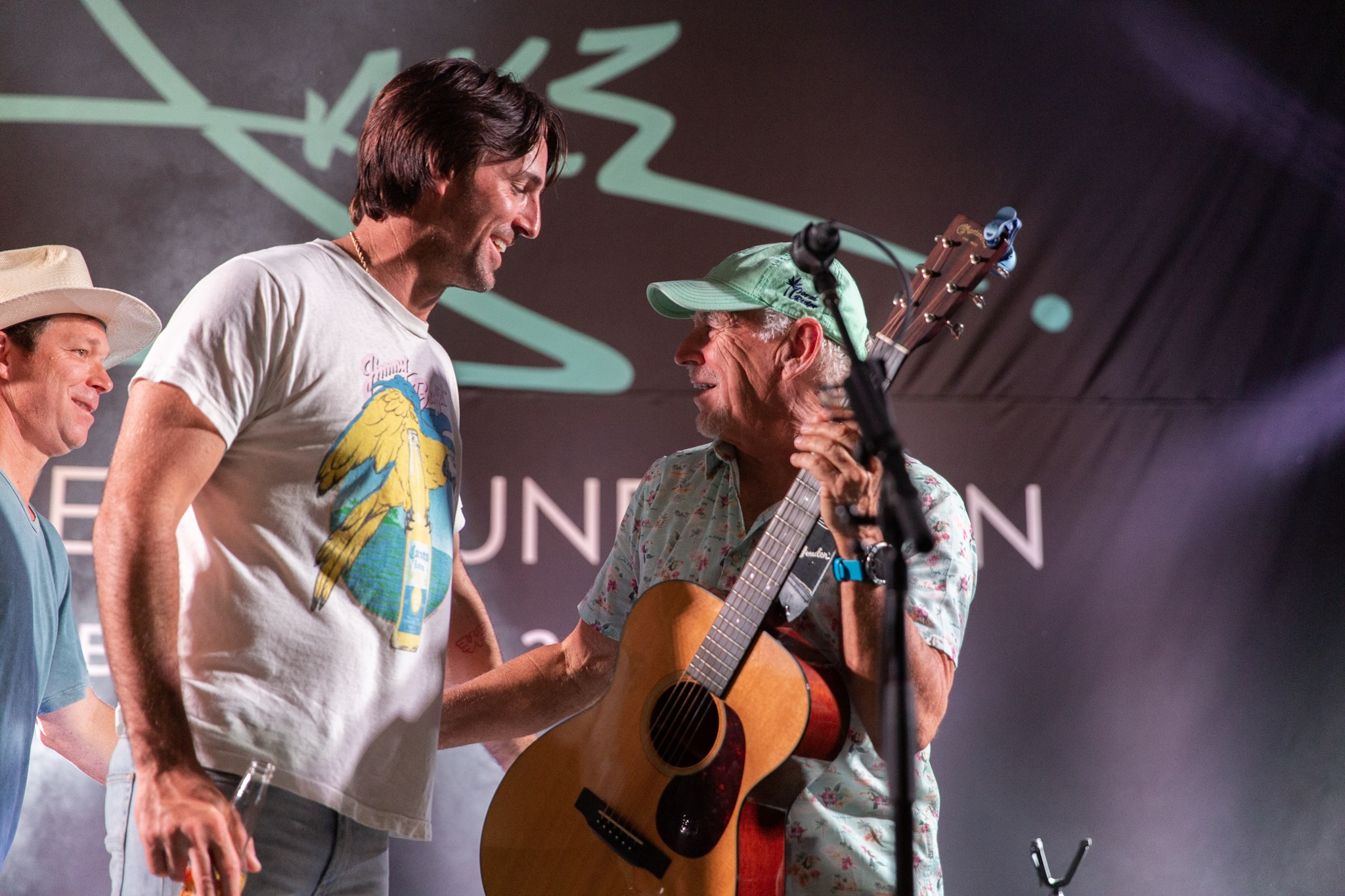 JAKE OWEN HOSTS CHARITY EVENT THE FLAMINGO WITH LOTS OF FRIENDS