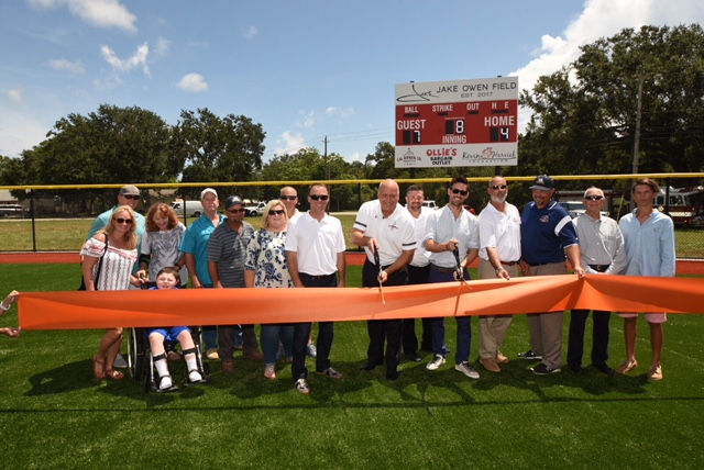 Cal Ripken, Jr., Kevin Harvick and Jake Owen Unveil  Synthetic Turf Youth Development Park